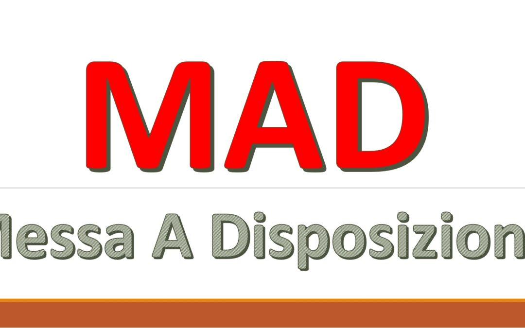 Regolamentazione Istanze MAD 2020/2021