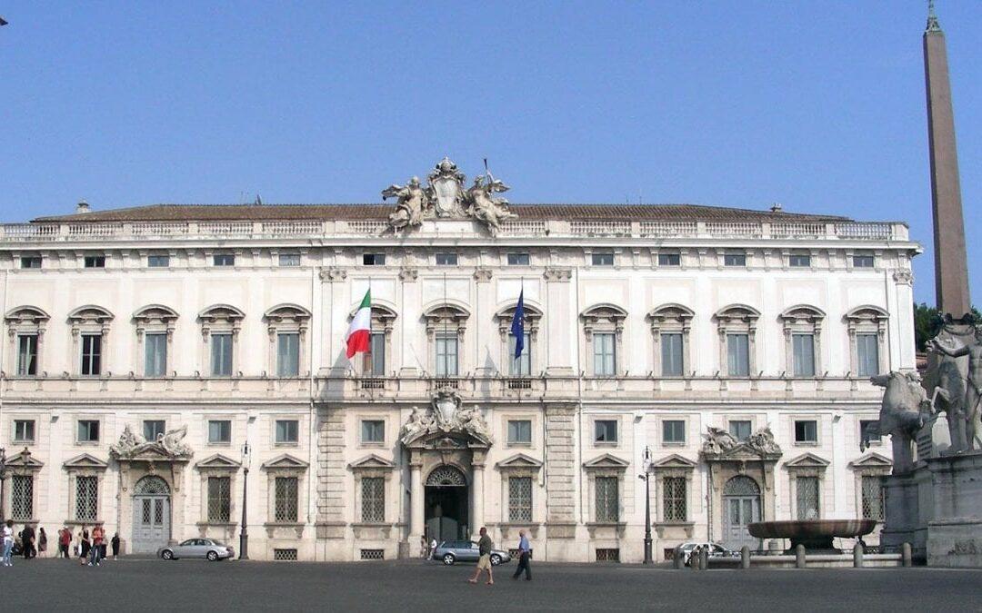 VISITA AL QUIRINALE – LA CASA DEGLI ITALIANI  I.I.S. 'L. ANGELONI' – 12.2.2020
